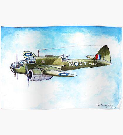 Beaufort Bomber Poster