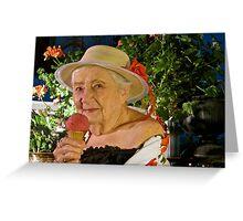 Girls at Heart, June ~ Isabel Greeting Card