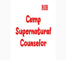 Supernatural Camp Counselor Rob Unisex T-Shirt