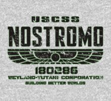 ALIEN 1979 USCSS NOSTROMO by LamericaTees