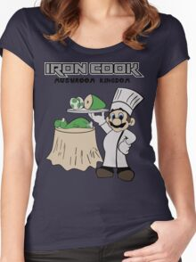 Iron Cook Women's Fitted Scoop T-Shirt