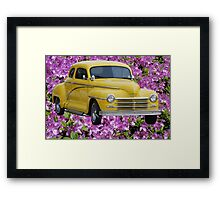 1945 Plymouth Coupe  Framed Print