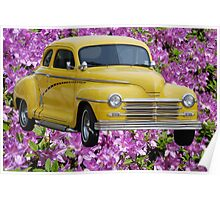 1945 Plymouth Coupe  Poster