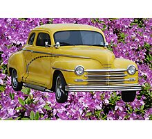 1945 Plymouth Coupe  Photographic Print