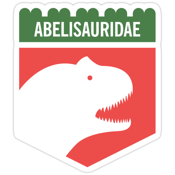 Dinosaur Family Crest: Abelisauridae by David Orr