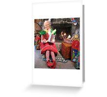 Girls @ Heart, December ~ Shirley Greeting Card
