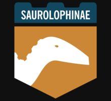 Dinosaur Family Crest: Saurolophinae Kids Clothes