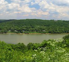 Ohio River Panorama by Ron Russell