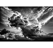 The Rain Is Coming Photographic Print
