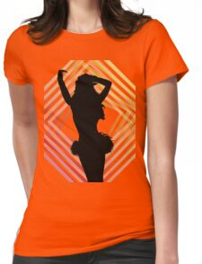 Britney Spears Blackout Shirt Womens Fitted T-Shirt