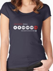 Dharma Ball Women's Fitted Scoop T-Shirt
