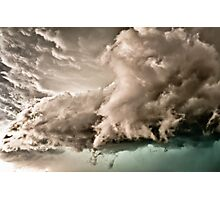 The Color In Clouds Photographic Print