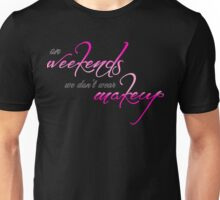 Weekend Style - Pink Unisex T-Shirt