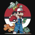 Super Mario Pokemon Crossover by mymarbear