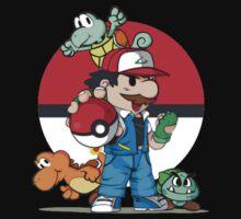 Super Mario Pokemon Crossover by mymarbear