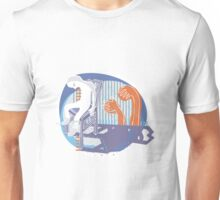 blue chair Unisex T-Shirt