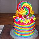 The Rainbow Cake by janfoster