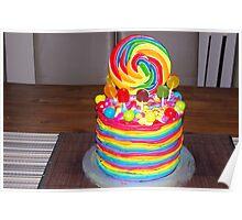 The Rainbow Cake Poster