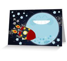 Le Voyage dans la Lune Greeting Card