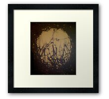 Micro vision projection Framed Print