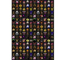 Multiple characters (New set) - Five Nights at Freddy's - Pixel art  Photographic Print