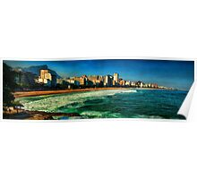 Ipanema Beach Poster