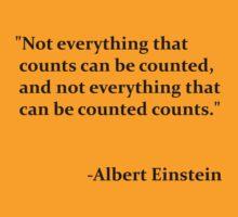 Einstein Quote by picky62