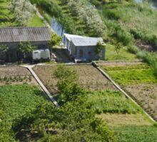small crop farming, Croatia Sticker