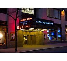 NBC 30 Rockefeller Center - Observation Deck Photographic Print