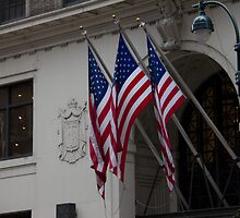 Patriotic New York City by jeffreynelsd