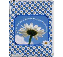Faith Looks Up ~ Daisies! iPad Case/Skin