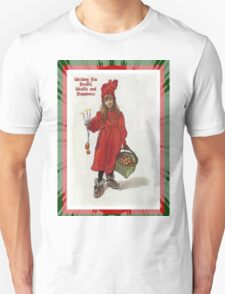 Wishing You Health Wealth and Happiness Greeting Card T-Shirt