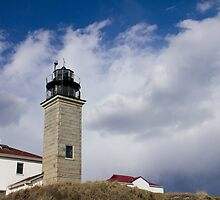 Beavertail Lighthouse by jeffreynelsd
