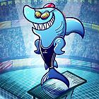 Olympic Swimmer Shark by Zoo-co