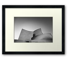 Waves of Steel Framed Print