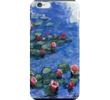 Water Lilies-Impressionism iPhone Case/Skin