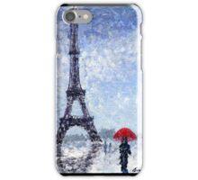 Rainy Day In Paris iPhone Case/Skin