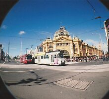 Flinders Street. by ellenor