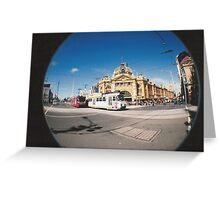 Flinders Street. Greeting Card