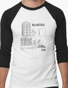 BLUBÖKS Men's Baseball ¾ T-Shirt