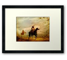Smooth Language Framed Print