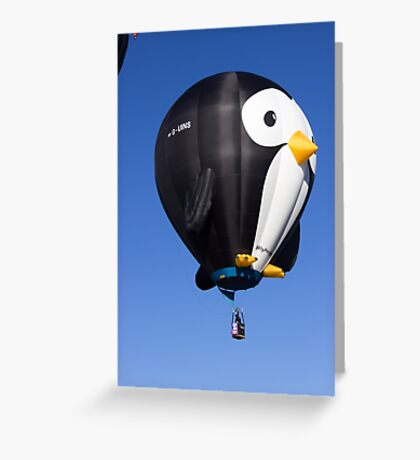 Puddles the Penguin Greeting Card