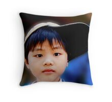Vietnamese Lad Throw Pillow