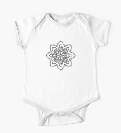Simple Swirl Mandala Kids Clothes