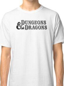 Dungeons & Dragons - D&D Classic Retro Logo Classic T-Shirt