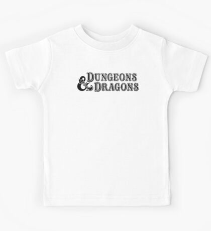Dungeons & Dragons - D&D Classic Retro Logo Kids Tee