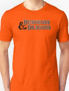 Dungeons & Dragons - D&D Classic Retro Logo Unisex T-Shirt