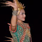 Traditional Thai Dancer by Jessica Henderson