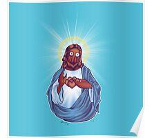 Zoidberg Jesus Poster