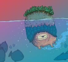 Lion Turtle by captainblue